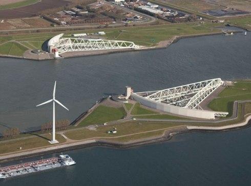 Delta Stormbarrier Belanda