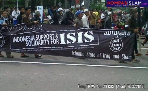 Support ISIS Indonesia